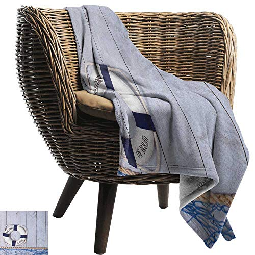 ZSUO huisdier deken boei, leven boei in kristal helder zwembad zomer ontspannen vakantie sport thema blauw oranje wit gooien lichtgewicht zachte microvezel massief deken