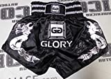 Raymond Daniels Signed Glory Kickboxing Fight Shorts Trunks Autograph - PSA/DNA Certified - Autographed Boxing Robes and Trunks