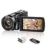 Video Camera Camcorder [2020 Upgraded] Weton 1080P Full HD Digital Vlogging Camera