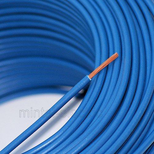 Verdrahtungsleitung H07V-K 10 mm² blau PVC-Einzelader feindrähtig, Cu-blank *Meterware*