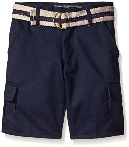 Eddie Bauer Boys' Twill Pant (More Styles Available), Classic Navy, 7