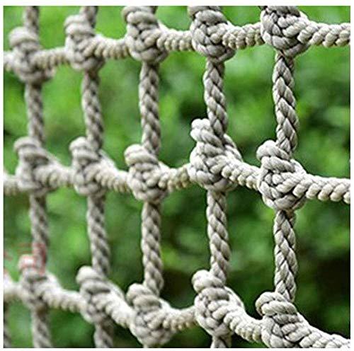 Veiligheid net decoratie/Klimmen Net Cargo Touw Ladder Veiligheid Net Heavy Duty Netting Balkon Safe Banister Trapbescherming Hek Mesh Grid Speeltuin Blokkeernet (Kleur: 14mm (11/20), Maat : 3 * 5m (