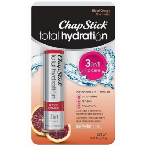 ChapStick Total Hydration Blood Orange 012 oz Pack of 2