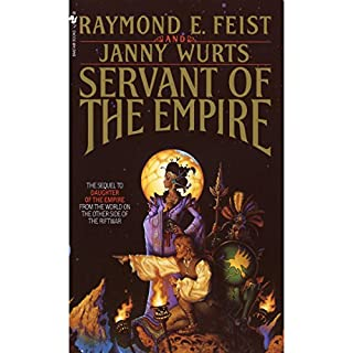 Servant of the Empire     Riftwar Cycle: The Empire Trilogy, Book 2              Auteur(s):                                                                                                                                 Raymond E. Feist,                                                                                        Janny Wurts                               Narrateur(s):                                                                                                                                 Tania Rodrigues                      Durée: 30 h et 44 min     11 évaluations     Au global 5,0