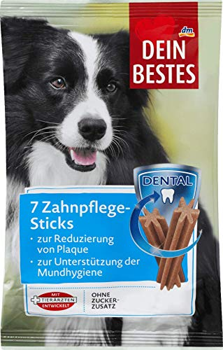 Dein Bestes Dental Zahnpflege-Sticks, für Hunde, 203 g Ergänzungsfuttermittel
