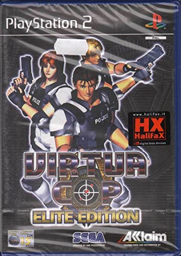 Virtua Cop Elite Edition-(Ps2)