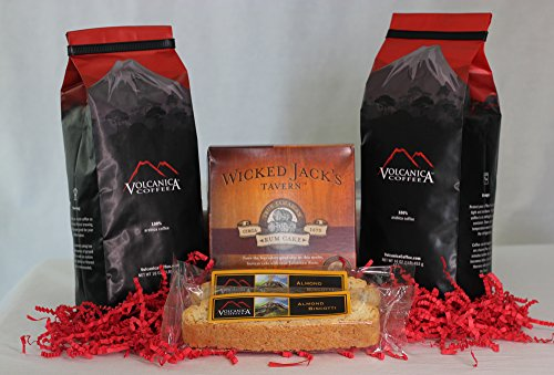 Jamaican Blue Mountain Coffee Gift Box Set, 100% Pure, Ground, Fresh...