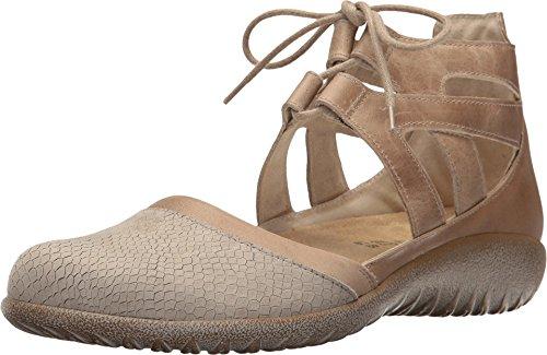 NAOT Women's Lace-up Shoe Beige Iguana/Khaki/Arizona Tan 7 M US