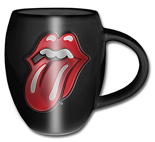 ROLLING STONES - Tongue Mug - Tasse mit Zunge schwarz