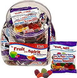 Fruit of the Spirit Scripture Candy