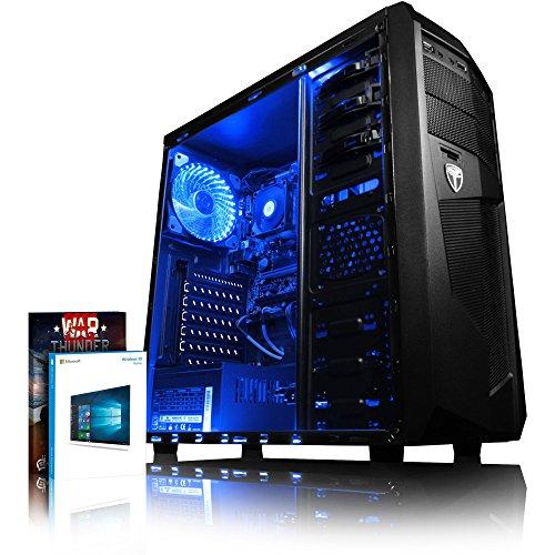 Cupón de juego de Warthunder DLC de 30€, Garantía de por vida Vibox Evolution Radeon R5 Gráficos Chip AMD A6-9500 Dual 2-Core AM4 APU/CPU 1000 GB (1 TB) DiscoDuro (SATA-III 6.0 Gbit/s / 7200rpm), 8GB DDR4 2400MHz High Speed Memoria Pre instalado Mic...