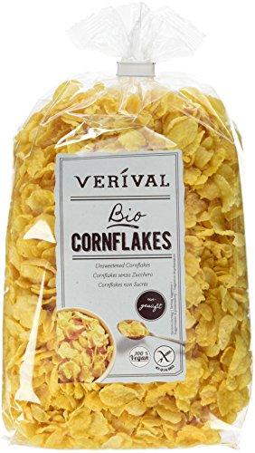 Verival Cornflakes ungesüßt - Bio, 6er Pack (6 x 250 g)