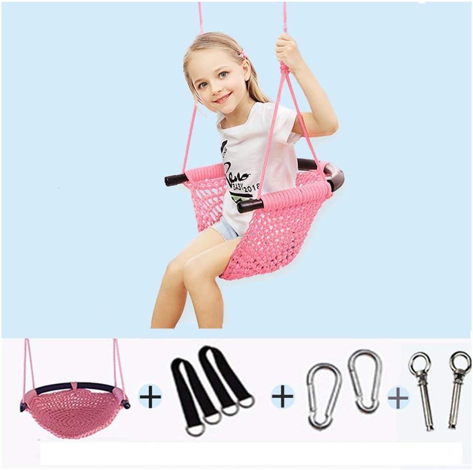 zxb-shop Swings Children's Mesh Max Reservation 47% OFF Swing Hand-W and Indoor Outdoor