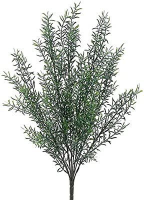 "21"" Plastic Rosemary Bush Green (pack of 12)"