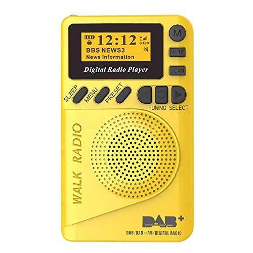 HYLDM Radio Taschenradio Tragbar,...
