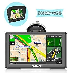 GPS para Coche con Pantalla Táctil HD de 7 Pulgadas Nüvi Reproductor Multimedia Navegador GPS con Mapa de EuropaGPS para Coche con Pantalla Táctil HD d…