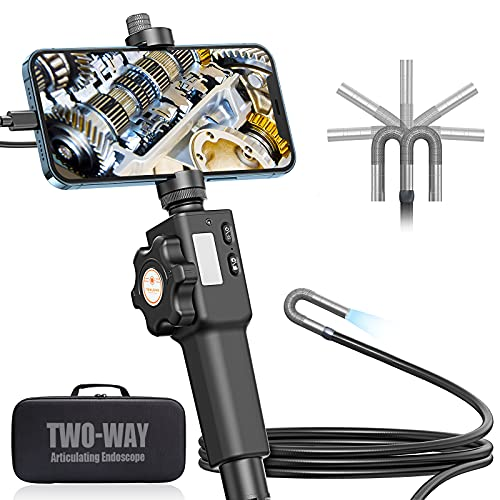 Articulating Endoscope for iPhone, Teslong Visual Automotive...