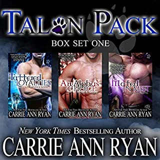 Talon Pack Box Set 1 (Books 1-3)                   By:                                                                                                                                 Carrie Ann Ryan                               Narrated by:                                                                                                                                 Gregory Salinas                      Length: 19 hrs and 27 mins     2 ratings     Overall 4.5