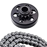 Centrifugal Clutch Assembly 1' Bore and 14 Tooth with 40/41/420 Chain Sprocket for Go-Karts Mini Bike Lawnmower Engine