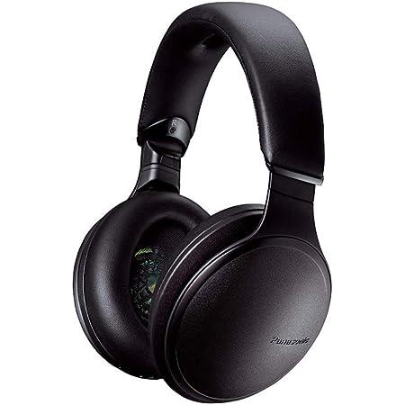 Panasonic RP-HD605NE-K Wireless Bluetooth Over The Ear Headphone with Mic (Black)
