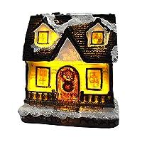 クリスマスオーナメント クリスマス飾り 樹脂製品 部屋 ホリデーパーティーの装飾 クリスマスパーティー用品 クリスマスダイニングデコレーション 装飾 ライト