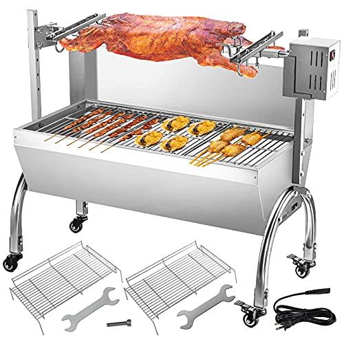 VEVOR Barbecue à brochettes avec Moteur pour Poulet...