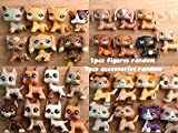 US warehouse, fast shipping; Will come with 1pc shorthair cat, 1pc collie, 1pc dachshund, 1pc great dane, 1pc cocker spaniel, and 7pcs randm accessories; Rare figures, kids birthday/Christmas gift, give kids a wonderful childhood; Let me know freely ...