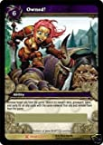 Owned! Loot Card World of Warcraft WOW UDE Taunt Flag