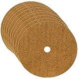 10 Stück Kokosfaser Liner Runde Form Matte Gartendekorationen Unkraut Ringe Kontrolle Pflanzendeckel Topf Für Reduzieren Sie das Auslaufen von Boden und Wasser