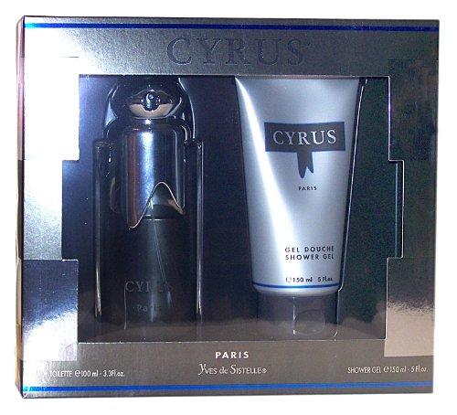 Parfums Jacques Evard CYRUS Geschenkset, Inhalt: Eau de Toilette Natural Spray 100 ml + Shower Gel 150 ml