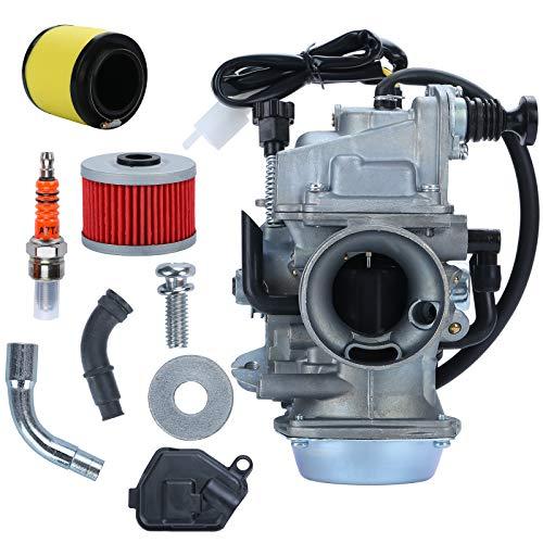 TRX350 Carburetor for Rancher 350 TRX350 350ES 350FE 350FMTE 350TM 2000-2006 atv 4 Stroke Carburetor...