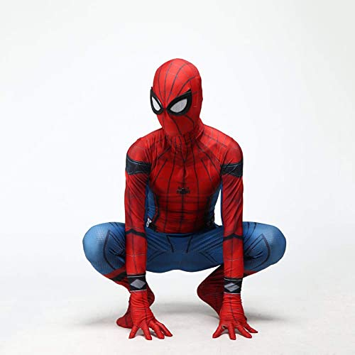 en stock DSFGHE Traje De Spiderman para para para Niños Adulto Cosplay Disfraz Bola Fiesta De Cumpleaños Apretada De Una Pieza, La Cabeza Se Puede Separar,Adult-L  hasta 60% de descuento