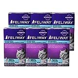 Feliway 48-Milliliter Plug-In Refills, 6 Refills