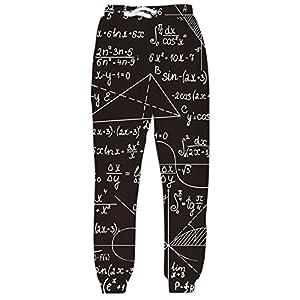 uideazone Unisex Pantalones 3D impresión Pantalones Mujer Baggy Pantalones Casuales Jogging Sweatpant | DeHippies.com