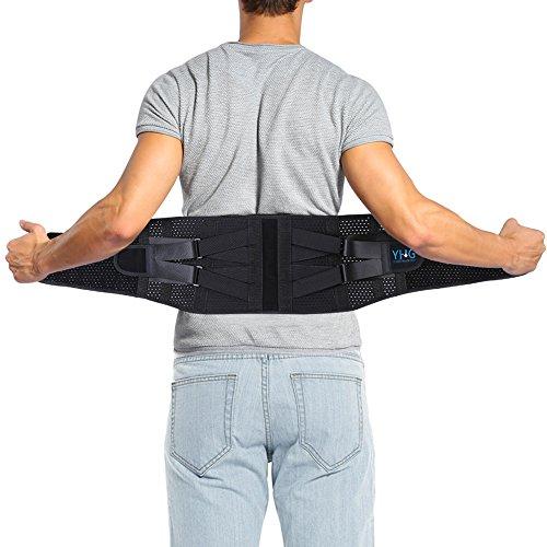 Soporte para espalda, cinturón de enfermería de doble presión ALIVIO DEL DOLOR DE ESPALDA para mujeres