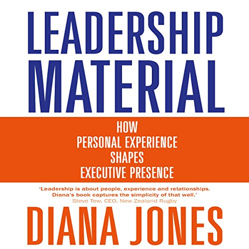 Leadership Material audiobook cover art