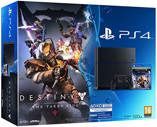 PlayStation 4: Console 500GB C Chassis + Destiny: Il Re dei Corrotti [Bundle]