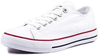 Tweak春夏新款帆布鞋 男女休闲百搭情侣鞋平底运动板鞋