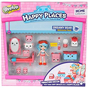 Happy Places Shopkins Welcome Pack Dreamy Bea | Shopkin.Toys - Image 1