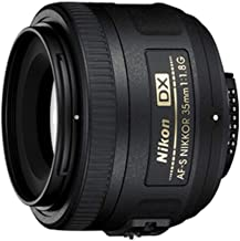 Nikon AF-S DX NIKKOR 35mm f/1.8G Lens with Auto Focus for...