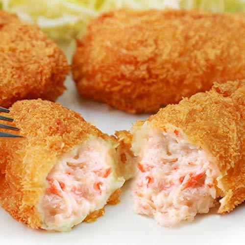 魚耕 コロッケ 冷凍 特大カニクリームコロッケ 紅ずわいがに入り グラタンコロッケ 大粒24個 6個×4セット