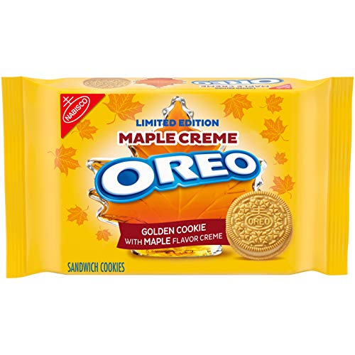 OREO Golden Maple Creme Sandwich Cookies 12.2oz