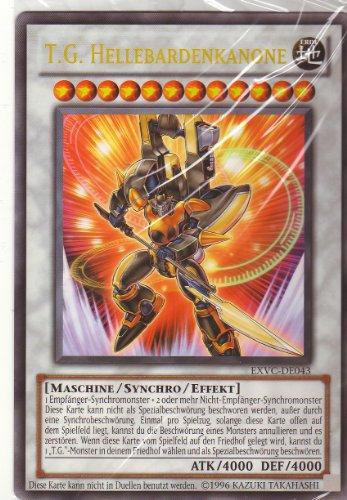 Yu-Gi-Oh! 5D's Extreme Victory Einzelkarte: T.G. HELLEBARDENKANONE ; EXVC- DE043 -- ATK/4000 DEF/4000 MASCHINE/ SYNCHRO/ EFFEKT (Maxi-Karte 14 x 20,5 cm) (A5 Karte) Diese Karte kann nicht in Duellen benutzt werden