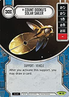 Star Wars Destiny: Way of the Force - Count Dooku's Solar Sailer - Rare