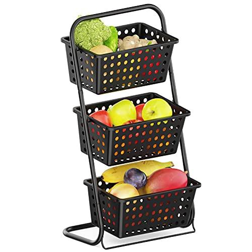 iSPECLE 3 Tier Standing Fruit Basket $19.79
