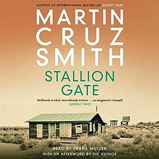 Stallion Gate audiobook cover art