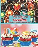 Mes meilleures RECETTES POUR LES KERMESSES DE L'ECOLE: Carnet à remplir | RASSEMBLER VOS 45 meilleures recettes dans ce livre de 151 pages | PASSION CUISINE