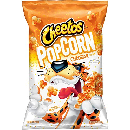 Review Of Cheetos Popcorn, Cheddar, 7 oz Bag