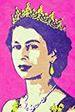Diuangfoong Pop Art Poster Queen Elizabeth II, 61 x 91,4 cm