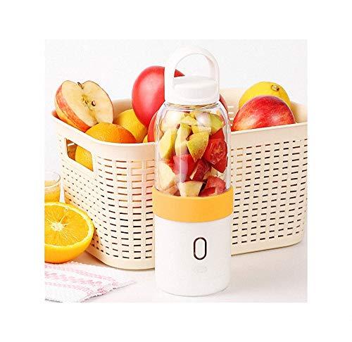 FZ FUTURE Mini-Standmixer, Multifunktion Standmixer, Sport-Flasche BPA-frei mit Total Crushing und Präzisionsklingen, Geeignet für Obst, Milchshakes, Gemüse,Orange